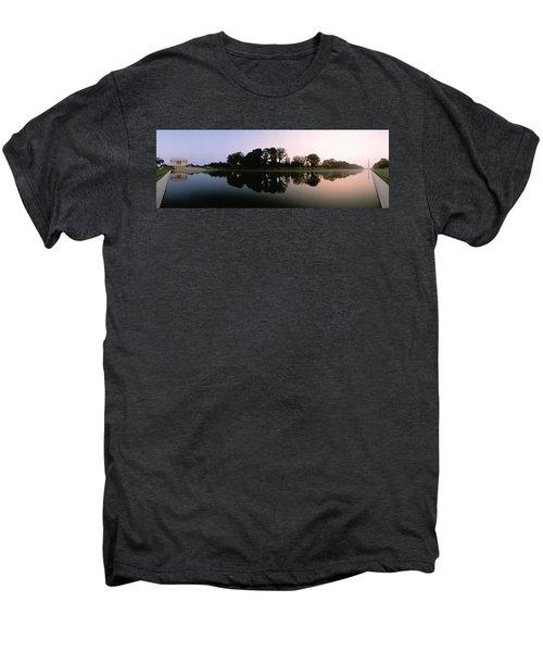 Washington Dc Men's Premium T-Shirt by Panoramic Images