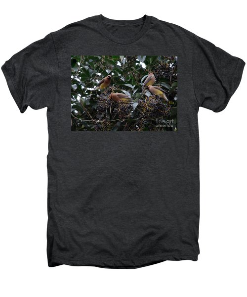 Wax Wings Supper  Men's Premium T-Shirt by Skip Willits