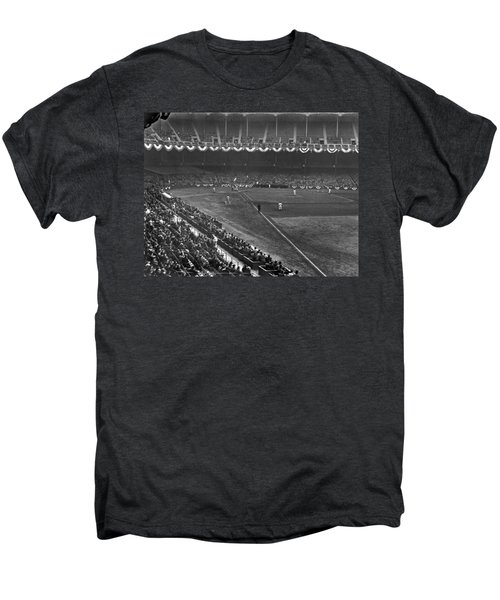 Yankee Stadium Game Men's Premium T-Shirt by Underwood Archives