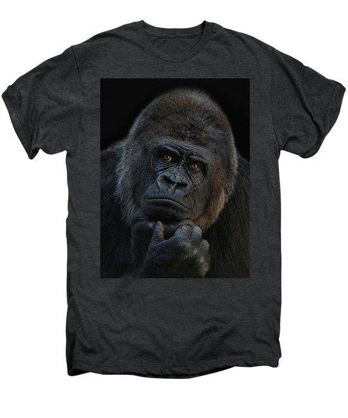 You Ain T Seen Nothing Yet Men's Premium T-Shirt by Joachim G Pinkawa