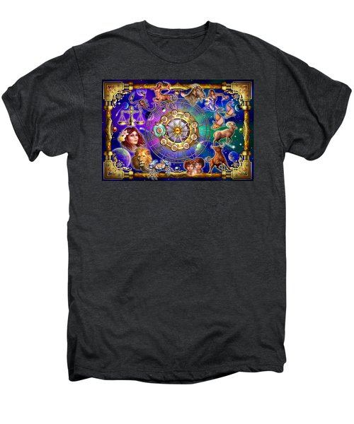 Zodiac 2 Men's Premium T-Shirt by Ciro Marchetti
