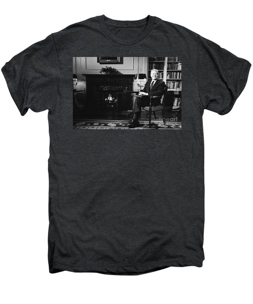 Jimmy Carter (1924- ) Men's Premium T-Shirt by Granger