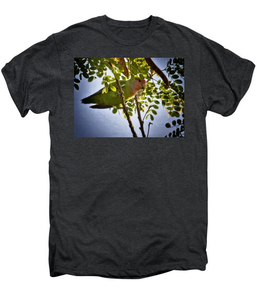 A Little Love  Men's Premium T-Shirt by Saija  Lehtonen