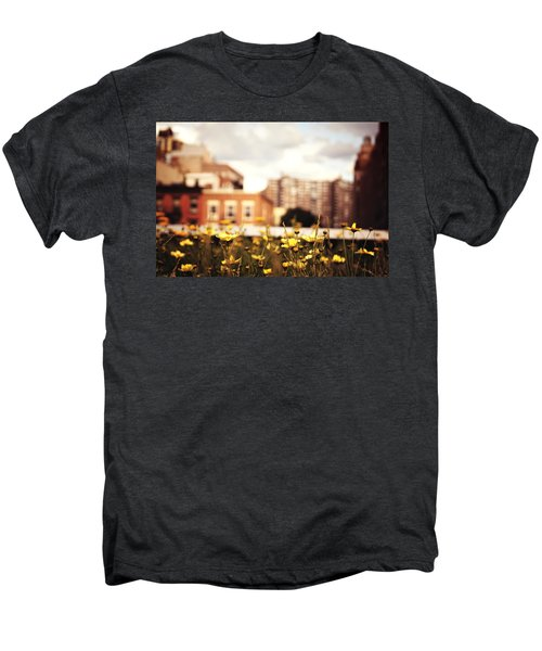 Flowers - High Line Park - New York City Men's Premium T-Shirt by Vivienne Gucwa