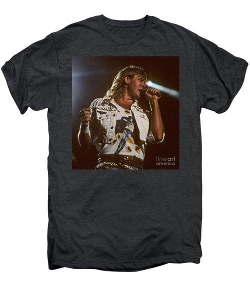 Joe Elliot Men's Premium T-Shirt by David Plastik