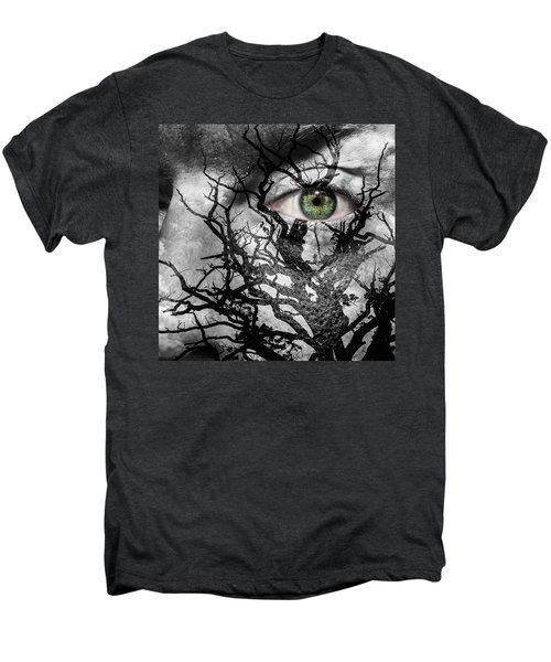 Medusa Tree Men's Premium T-Shirt by Semmick Photo