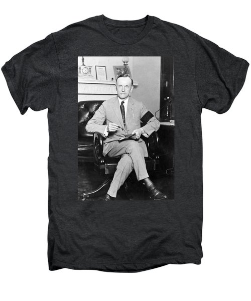 President Calvin Coolidge Men's Premium T-Shirt by International  Images