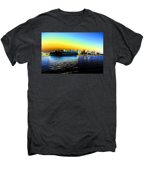 Sydney In Color Men's Premium T-Shirt by Douglas Barnard