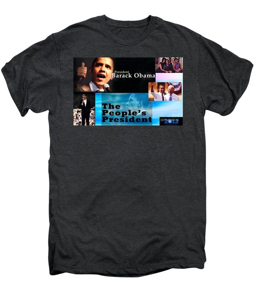 The People's President Men's Premium T-Shirt by Terry Wallace
