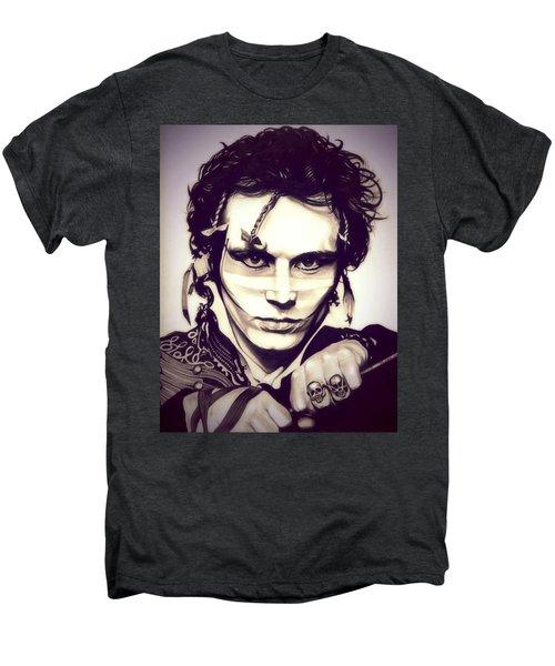 Adam Ant Men's Premium T-Shirt by Fred Larucci