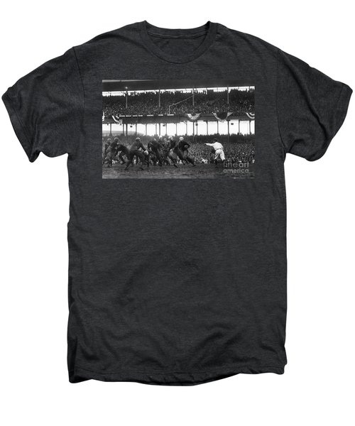 Football Game, 1925 Men's Premium T-Shirt by Granger