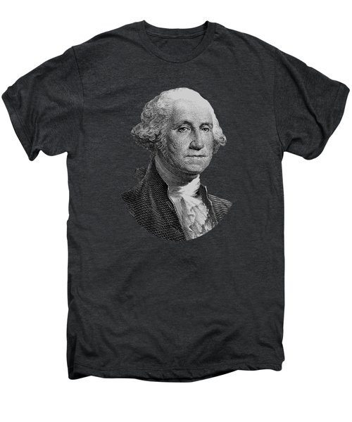 George Washington  Men's Premium T-Shirt by War Is Hell Store