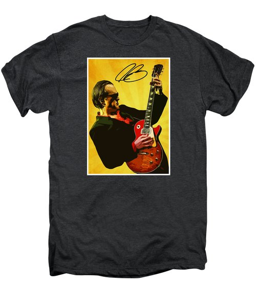 Joe Bonamassa Men's Premium T-Shirt by Semih Yurdabak