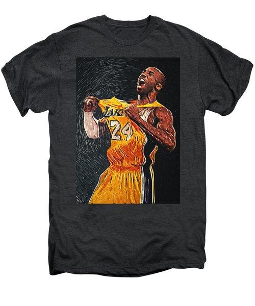 Kobe Bryant Men's Premium T-Shirt by Taylan Apukovska