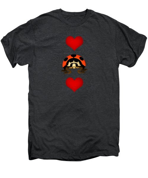 Love Bug Vertical Men's Premium T-Shirt by Sarah Greenwell