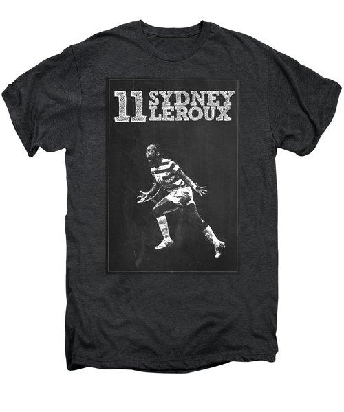 Sydney Leroux Men's Premium T-Shirt by Semih Yurdabak