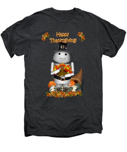 Robo-x9 The Pilgrim Men's Premium T-Shirt by Gravityx9  Designs