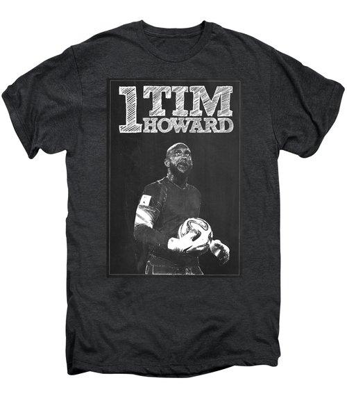 Tim Howard Men's Premium T-Shirt by Semih Yurdabak
