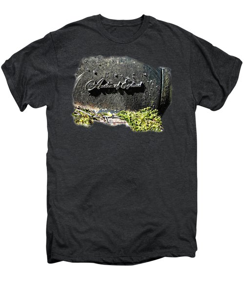 A40 Somerset Car Badge Men's Premium T-Shirt by Nick Kloepping