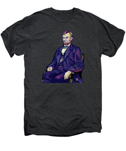 Abe Men's Premium T-Shirt by Rob Snow