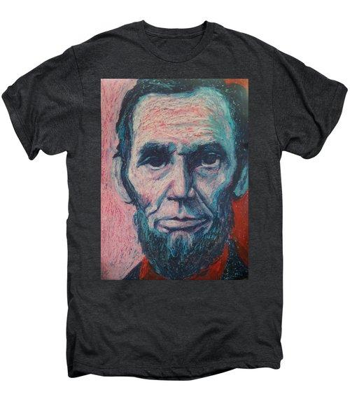 Abraham Lincoln Men's Premium T-Shirt by Regina WARRINER