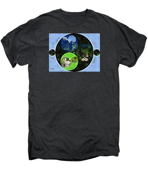 Abstract Painting - Asparagus Men's Premium T-Shirt by Vitaliy Gladkiy