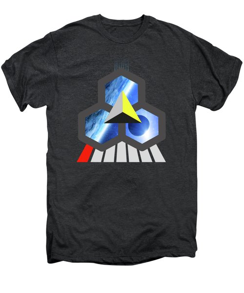 Abstract Space 1 Men's Premium T-Shirt by Russell K