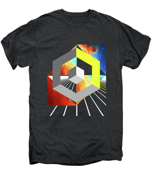 Abstract Space 4 Men's Premium T-Shirt by Russell K
