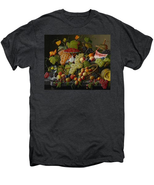 Abundant Fruit Men's Premium T-Shirt by Severin Roesen