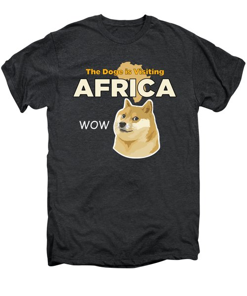 Africa Doge Men's Premium T-Shirt by Michael Jordan