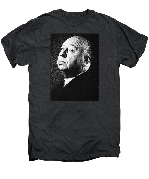 Alfred Hitchcock Men's Premium T-Shirt by Taylan Soyturk