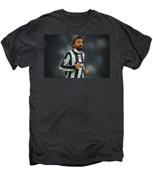 Andrea Pirlo Men's Premium T-Shirt by Semih Yurdabak