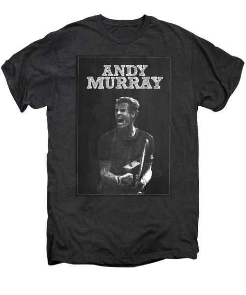 Andy Murray Men's Premium T-Shirt by Semih Yurdabak