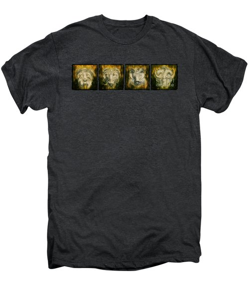 The Lineup Men's Premium T-Shirt by Terry Fleckney