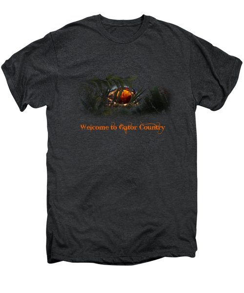 Welcome To Gator Country Men's Premium T-Shirt by Mark Andrew Thomas