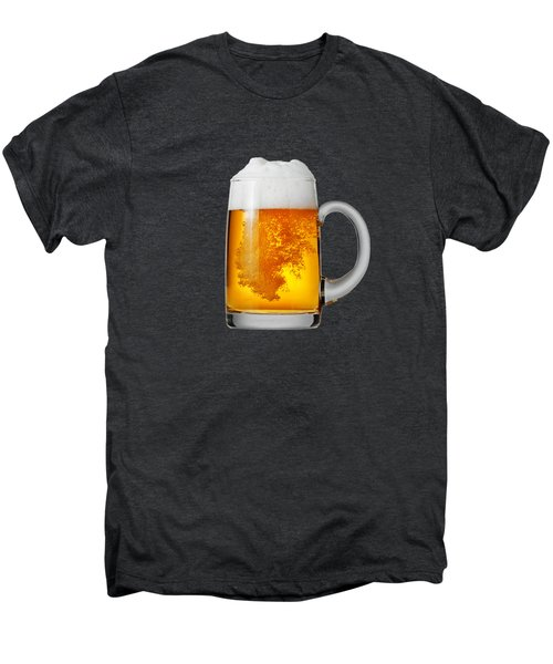 Glass Of Beer Men's Premium T-Shirt by T Shirts R Us -