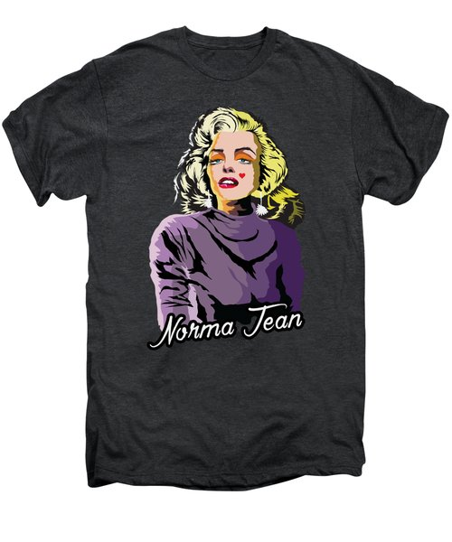 The Timeless Norma Jean Men's Premium T-Shirt by Anthony Mwangi