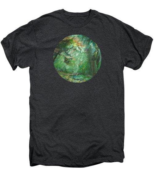Rainy Woods Men's Premium T-Shirt by Mary Wolf