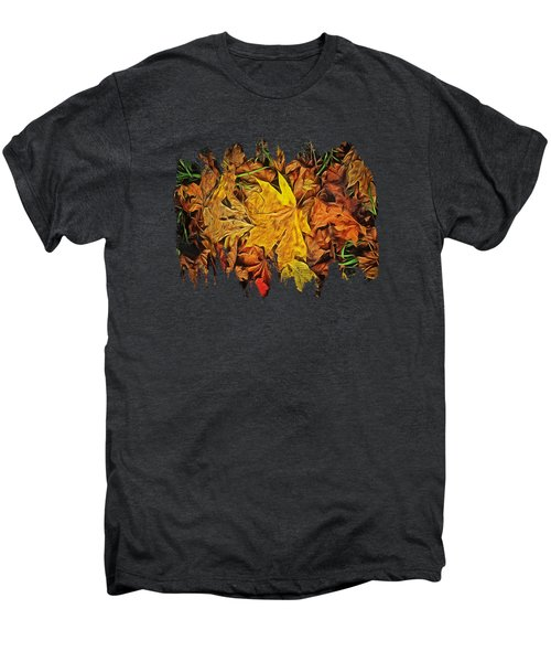 Autumn Leaves Of Beaver Creek Men's Premium T-Shirt by Thom Zehrfeld