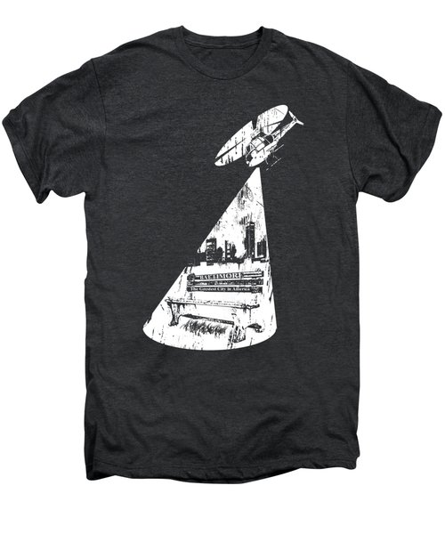 Baltimore Helicopter Men's Premium T-Shirt by Brendan Gilligan