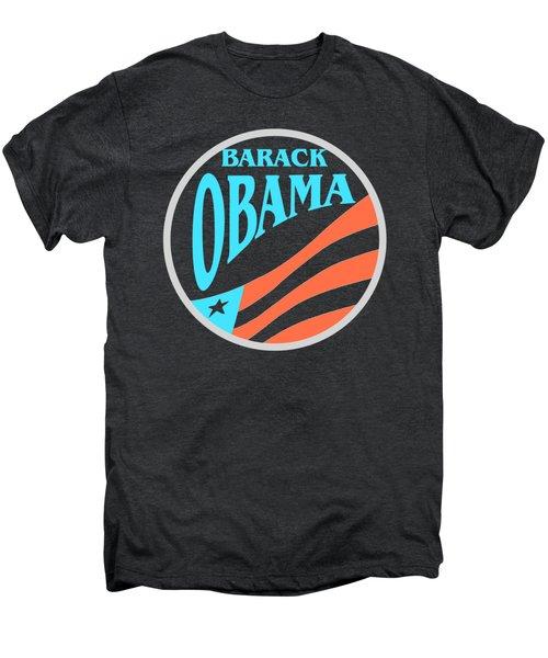 Barack Obama - Tshirt Design Men's Premium T-Shirt by Art America Online Gallery