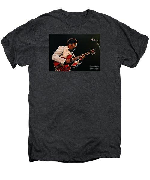 B. B. King Men's Premium T-Shirt by Paul Meijering