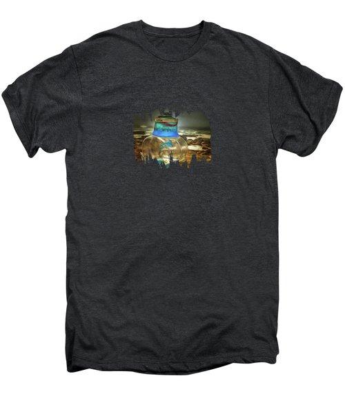 Beach Treasures Men's Premium T-Shirt by Thom Zehrfeld