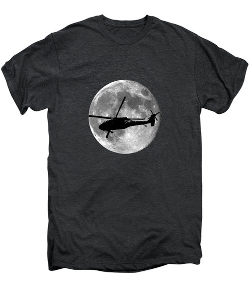 Black Hawk Moon .png Men's Premium T-Shirt by Al Powell Photography USA