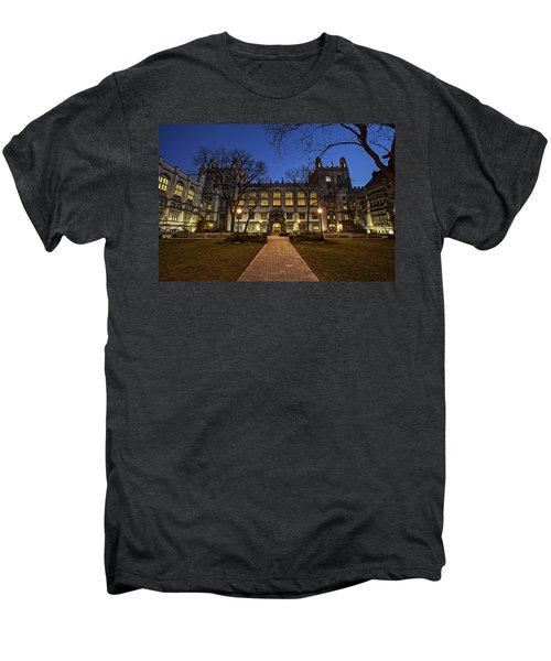 Blue Hour Harper Men's Premium T-Shirt by CJ Schmit