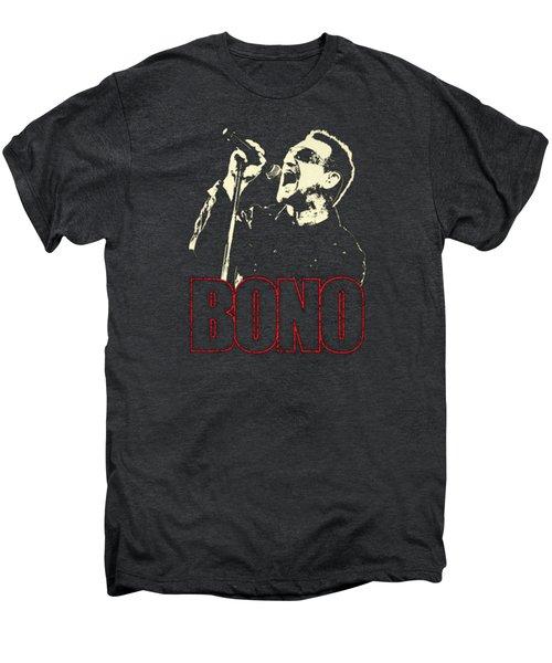 Bono Tour 2016 Men's Premium T-Shirt by Gandi Rismawan