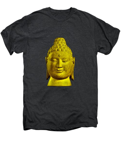 Borobudur Gold  Men's Premium T-Shirt by Terrell Kaucher