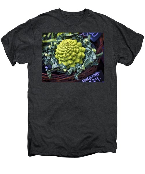 Brassica Oleracea Men's Premium T-Shirt by Heather Applegate