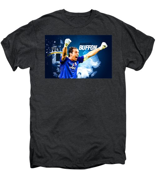 Buffon Men's Premium T-Shirt by Semih Yurdabak