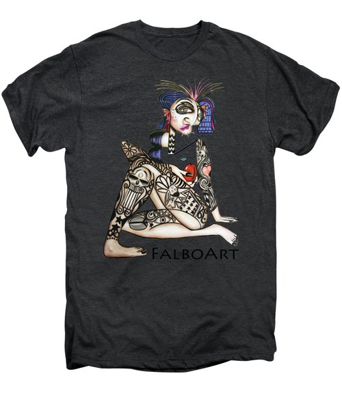 Can You See Me Know Men's Premium T-Shirt by Anthony Falbo
